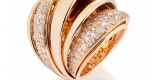 صورة خواتم ذهبية كبيرة , احلي اشكال للخواتم الذهبي الفخمه تحفه وااو