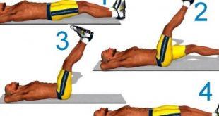 صورة افضل تمرين لشد عضلات البطن , ايه هي التمارين التي تفيد عضلات البطن