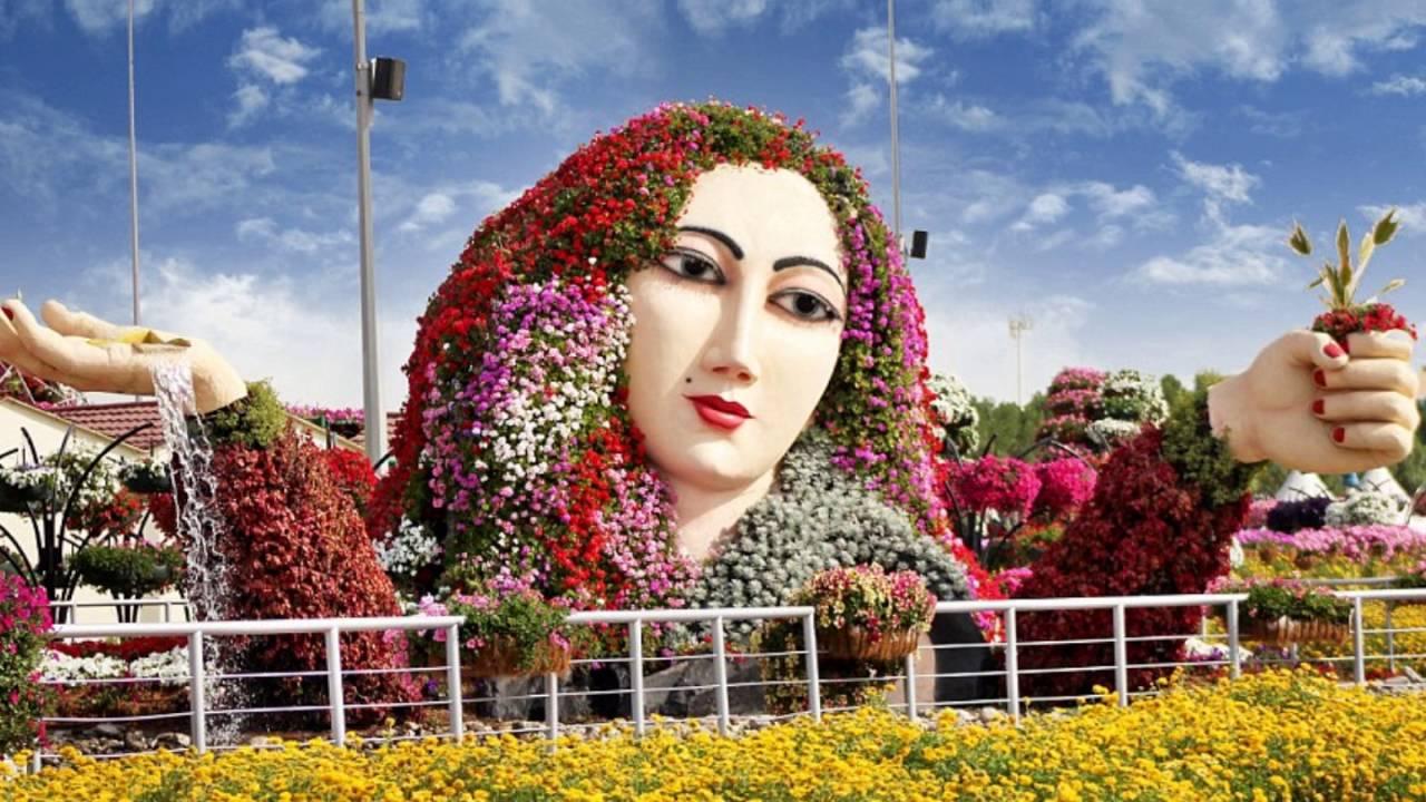 صور حديقة دبي للزهور , اجمل 12 صورة لحديقه الورود في دبي ياااه علي الجمال