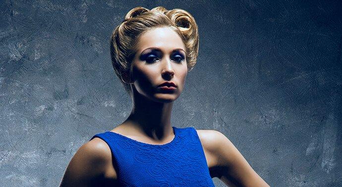 بالصور مكياج لفستان كحلي , اجمل مكياجات تليق مع الفساتين الزرقاء والكحلي 2783 11