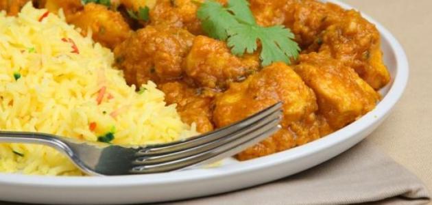 صور طريقة عمل دجاج بالكاري , احلي طعم فراخ بالكاري
