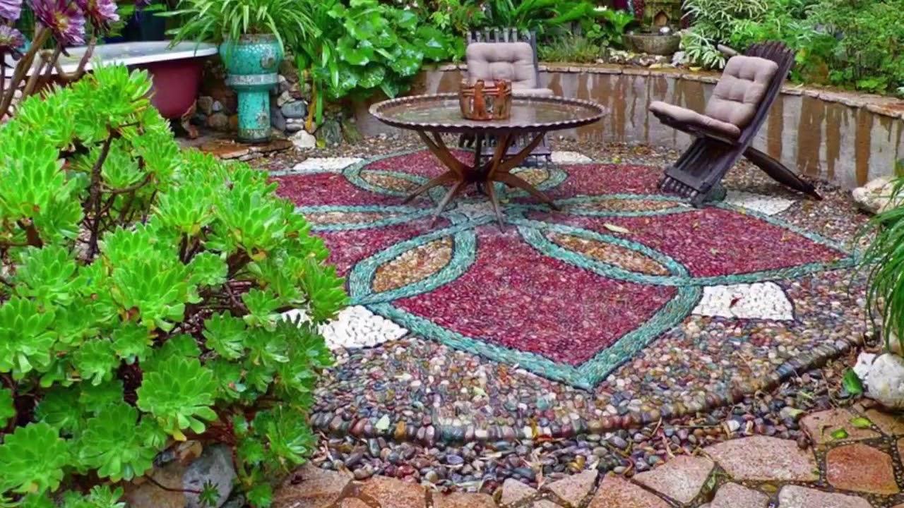صورة بلاط الحدائق الخارجية , احلي مجموعه صور تجننك لبلاط حدائق خرافه