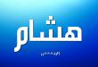 صور اسم هاشم بالانجليزي , كتابة هاشم باللغة الانجليزية