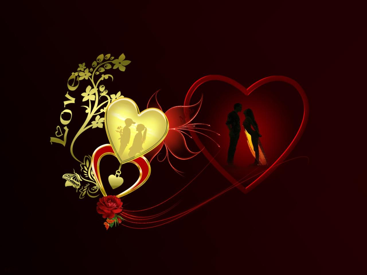بالصور خلفيات قلوب للكمبيوتر , صور لاجمل قلوب علي الاب توب 3172 7