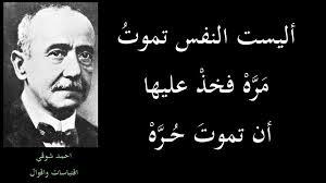 بالصور اشعار احمد شوقي , احمد شوقي ودواوينه الرائعه 330 1