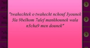 بالصور رسائل الحب مغربية , اجمل كلام رومانسي للعشاق في رسائل 338 10.png 310x165