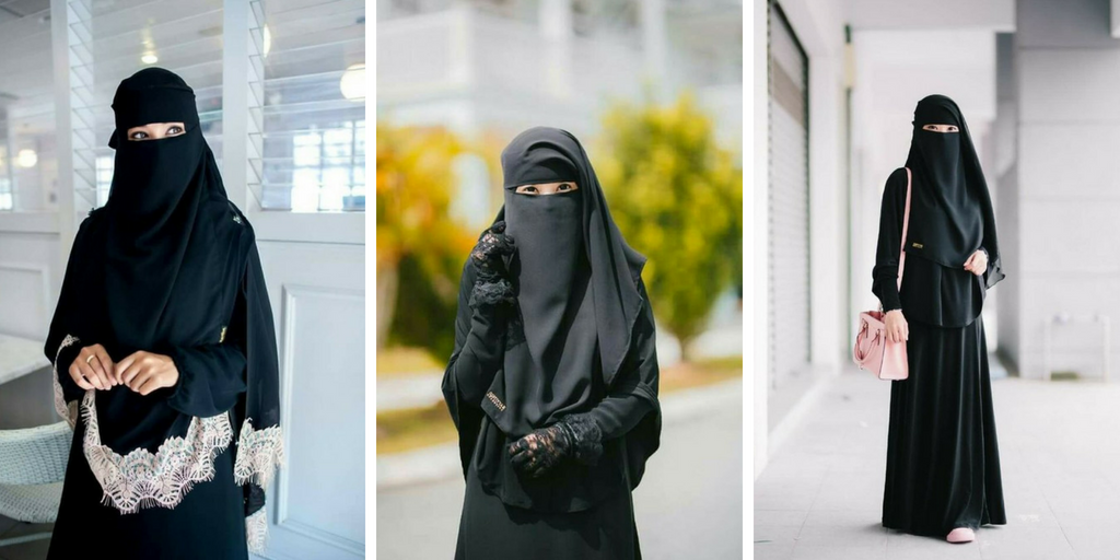 بالصور صور بنات منتقبة , جمال لبس نقاب البنات بالصور 3381 1