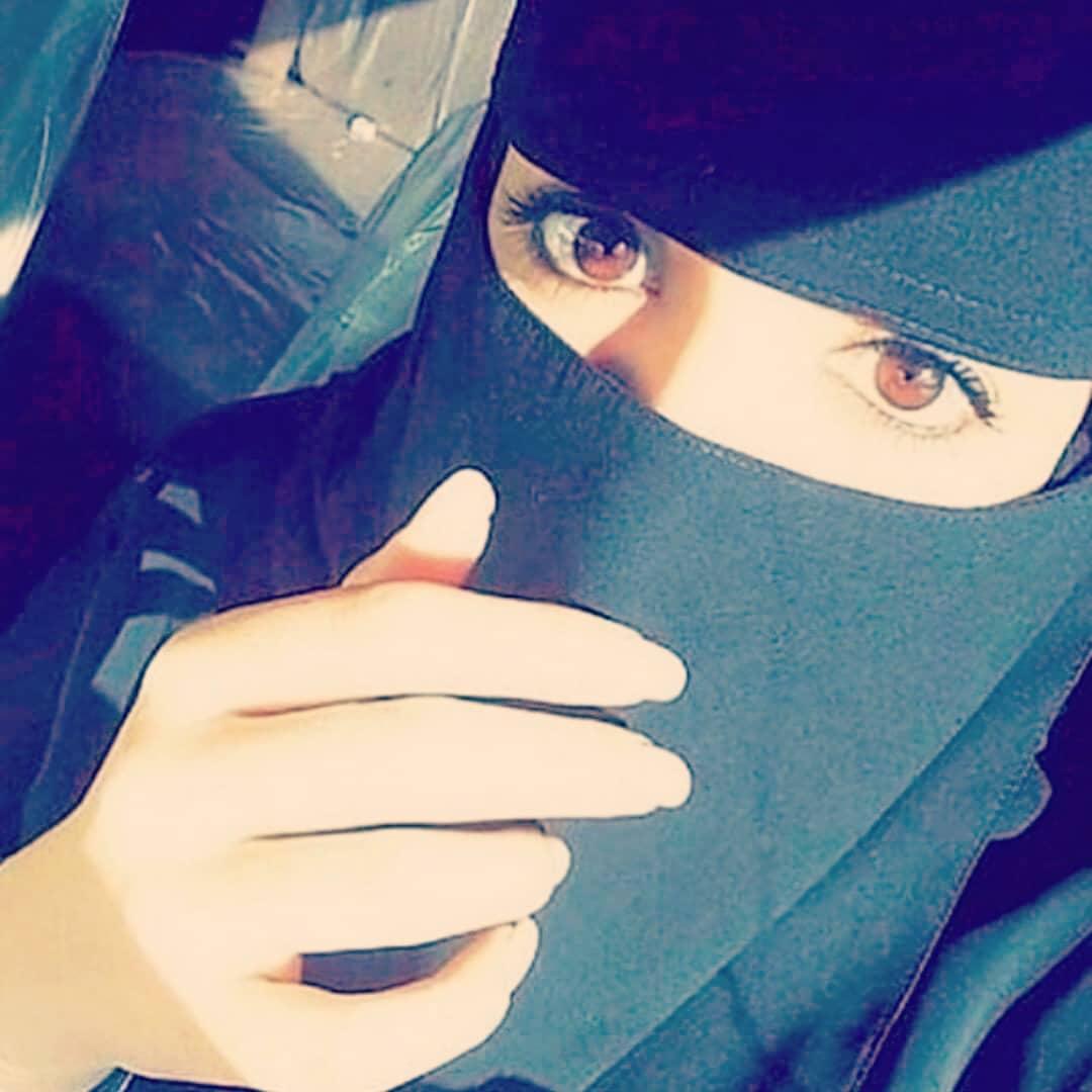 بالصور صور بنات منتقبة , جمال لبس نقاب البنات بالصور 3381 10