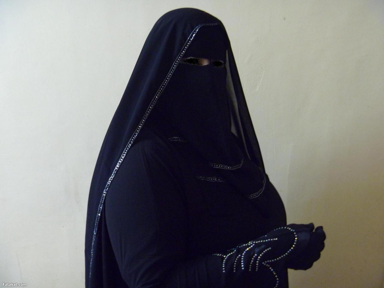 بالصور صور بنات منتقبة , جمال لبس نقاب البنات بالصور 3381 11