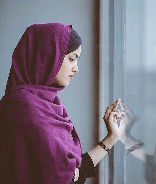 بالصور بنات محجبه حزينه , صورة لفتاة حزينة جدا 3385 1