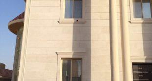 صور تصاميم واجهات حجر الرياض , استخدام حجر الرياض في تزيين واجهات العمارات