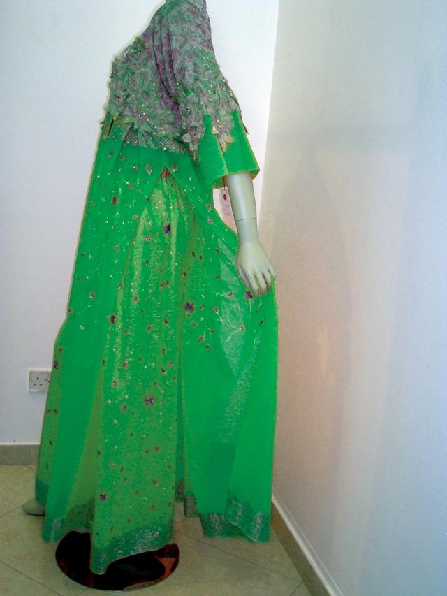 صورة الملابس الخضراء في المنام , رؤية اللبس الاخضر في الحلم
