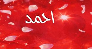 بالصور صور في اسم احمد , اجمل معلومات وصور عن اسم احمد لم تشاهدوها من قبل 373 4 310x165