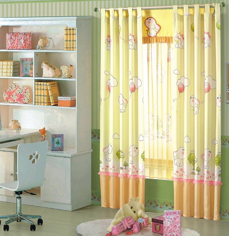 بالصور ديكورات ستائر غرف نوم اطفال , ارقي الستائر العصريه لغرف نوم الاطفال 377 10