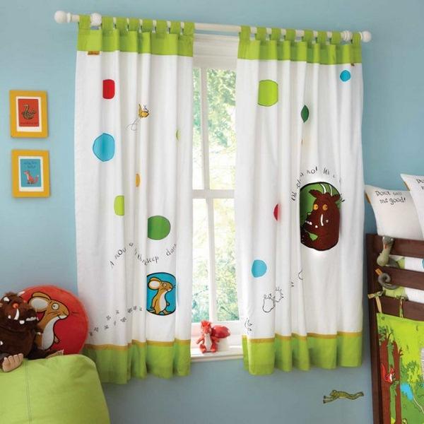 بالصور ديكورات ستائر غرف نوم اطفال , ارقي الستائر العصريه لغرف نوم الاطفال 377 11
