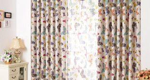 صورة ديكورات ستائر غرف نوم اطفال , ارقي الستائر العصريه لغرف نوم الاطفال