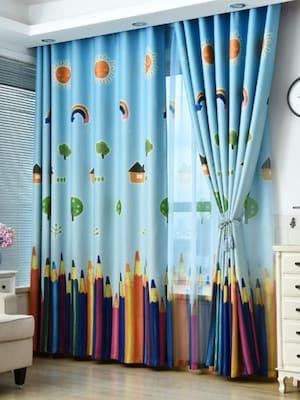 بالصور ديكورات ستائر غرف نوم اطفال , ارقي الستائر العصريه لغرف نوم الاطفال 377 2