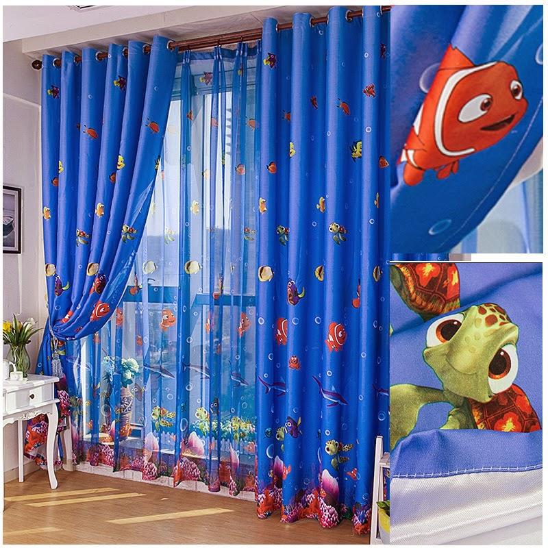بالصور ديكورات ستائر غرف نوم اطفال , ارقي الستائر العصريه لغرف نوم الاطفال 377 4