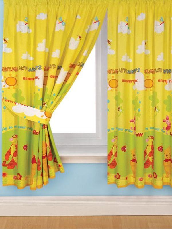 بالصور ديكورات ستائر غرف نوم اطفال , ارقي الستائر العصريه لغرف نوم الاطفال 377 7