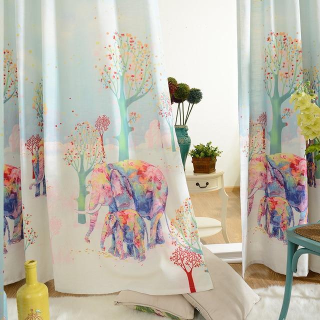 بالصور ديكورات ستائر غرف نوم اطفال , ارقي الستائر العصريه لغرف نوم الاطفال 377 8