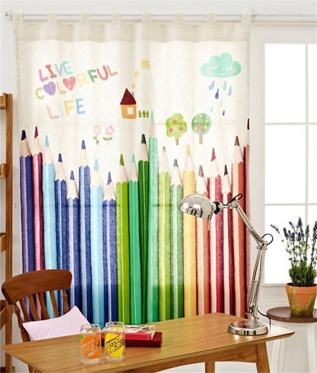 بالصور ديكورات ستائر غرف نوم اطفال , ارقي الستائر العصريه لغرف نوم الاطفال 377 9