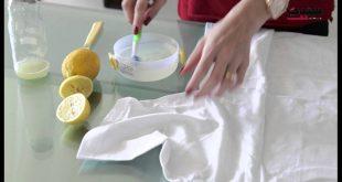 بالصور كيفية تنظيف الملابس البيضاء , ازاي تتخلص من بقع الملابس بيضاء اللون 410 2 310x165