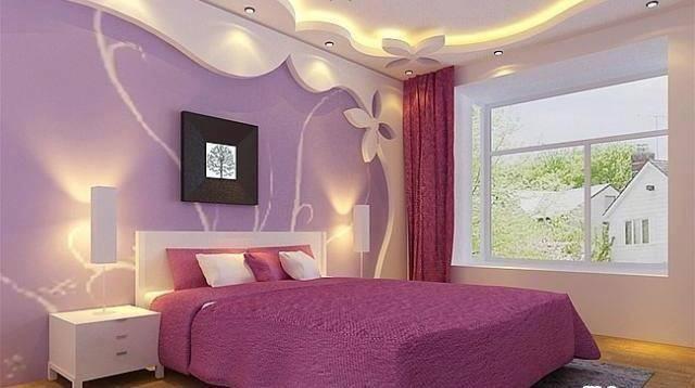 صور جبسيات غرف بنات , ارق الديكورات لغرفه مميزه لابنتك