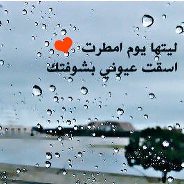 صورة صباح المطر الجميل , ما روعه كلمات اليوم اللي بيه مطر 469 7