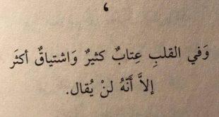 بالصور قصيدة عتاب للحبيبة , قصائد لاهميه العتاب بين العشاق 509 11 310x165
