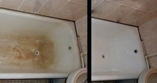 صور تنظيف جدران الحمام , احصلي علي جدران حمام ناصعه البياض واللمعان