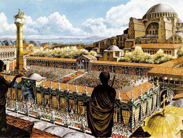 صور من هم البيزنطيين , تاريخ الميلاد الاول