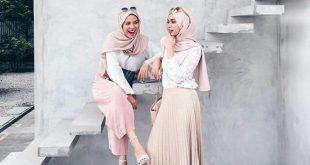 بالصور لبس بنات محجبات 2019 , اشكال لبس مناسب للحجاب والموضه 5513 12 310x165