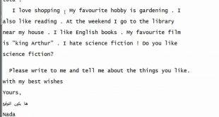 صور رسالة الى صديقتي بالانجليزي وترجمتها , ترجمة رسالة الي الصديقة الانجليزية