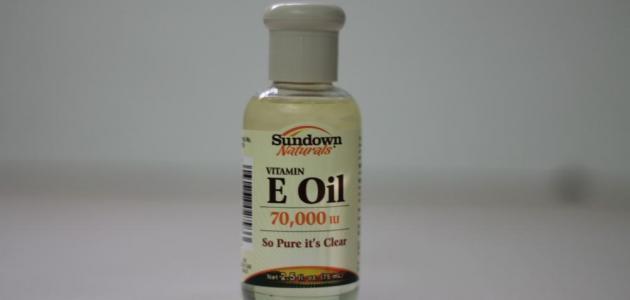 صورة فوائد زيت فيتامين e , اهمية للجلد والبشرة