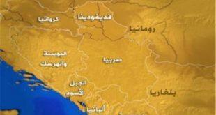 صور خريطة دول البلقان , موقعها الجغرافي المتميز