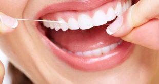 صورة خيط تنظيف الاسنان , فوائد الخيط للاسنان.
