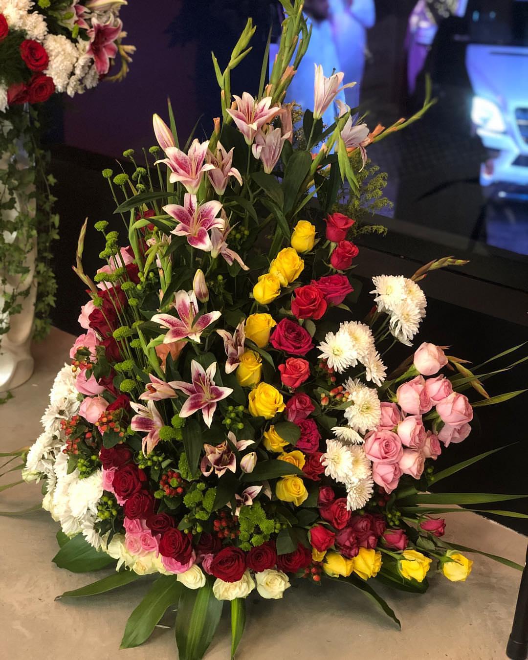 صورة بوكيه ورد جوري , احلى الورود ترمز للحب