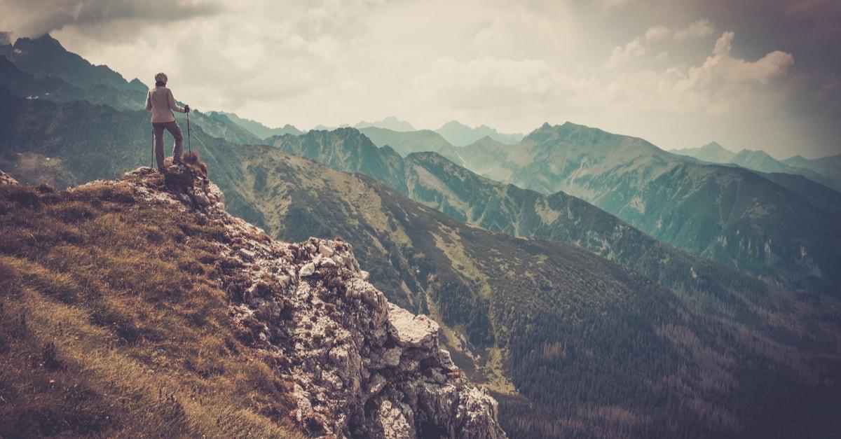 صورة حلمت اني فوق جبل عالي , ارى نفسى على جبل عالى فى المنام