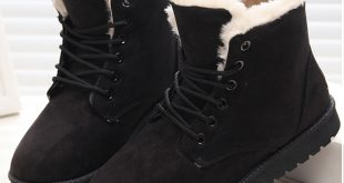 صورة احذية شتوية بدون كعب , جزم مناسبه لفصل الشتاء