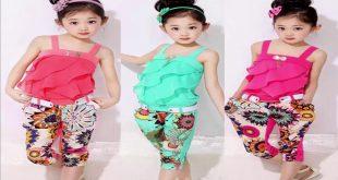 صورة بيجامات صيفى اطفال , ملابس صيفيه للاطفال