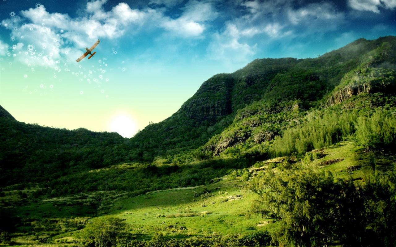 صورة الارض الخضراء في المنام , الرقعه الخضراء فى المنام