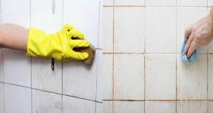صورة تنظيف سيراميك الحمام المجير , التجير فى سيراميك الحمام ومعالجته