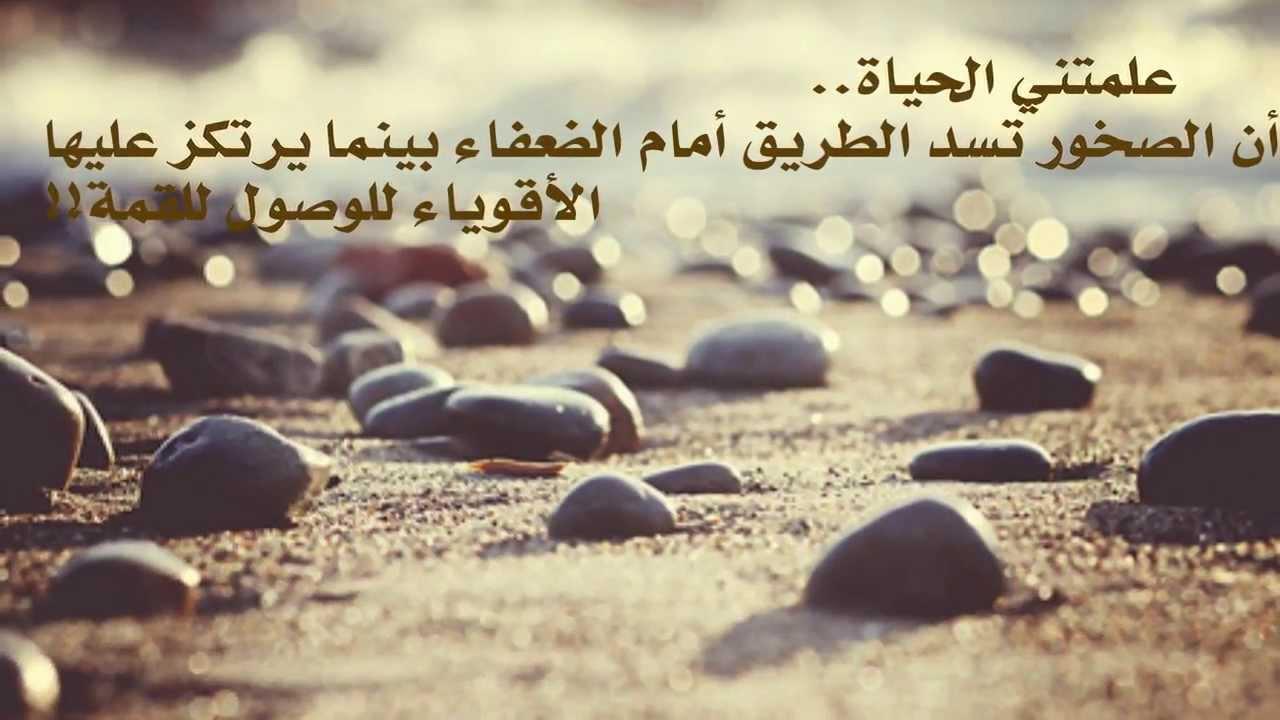 صور قصيدة علمتني الحياة , قصيده فى حب الحياه