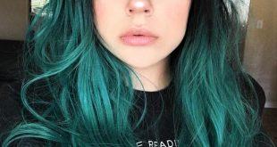 صور صبغة شعر خضراء , صورة غريبه للصبغات الخضراء