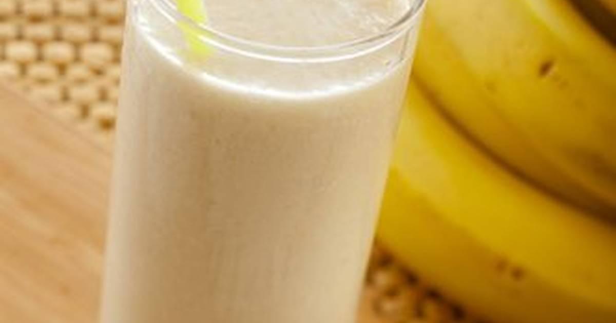 صور عمل عصير الموز , عصير الموز بطريقه صحيه