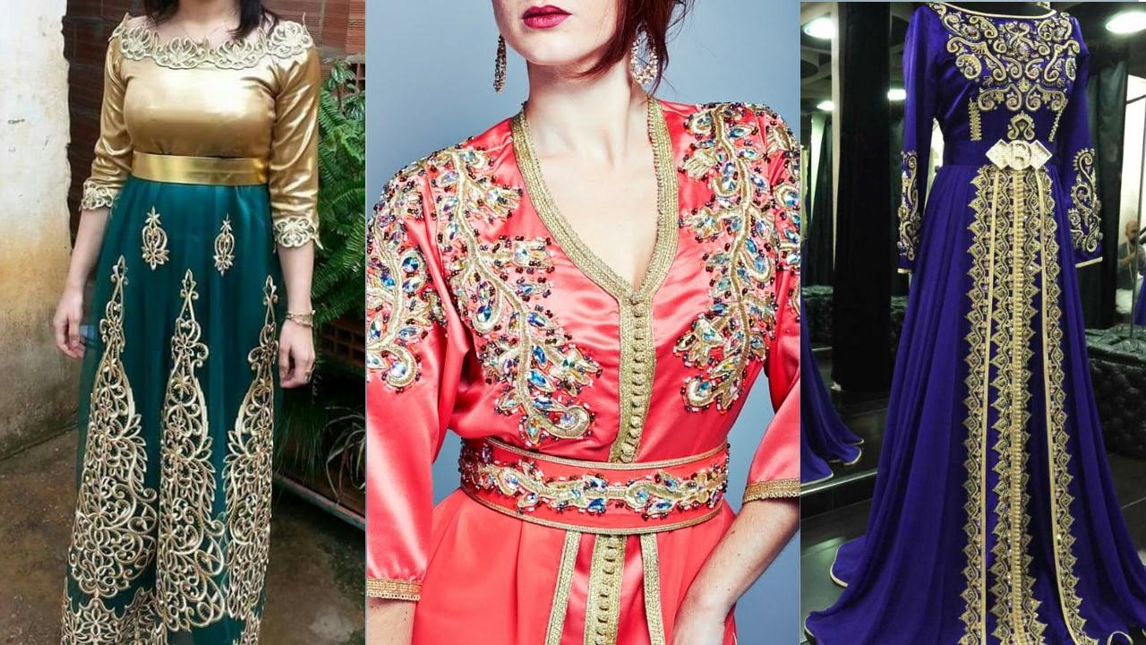 صور خياطة عصرية مغربية , شاهد اجمل الموضه في الملابس المغربية