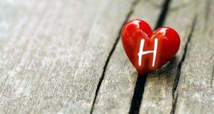 صور صورة حرف h , حروف بتصميمات وزخرفه جميله
