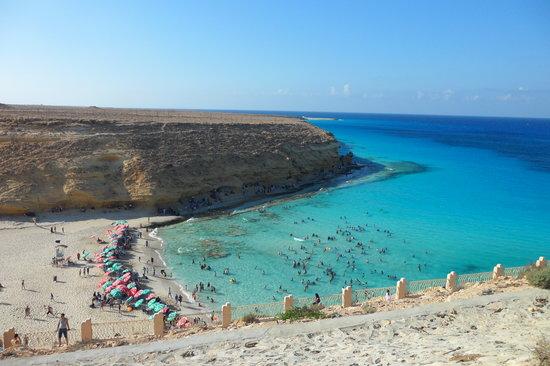 صورة جميع شواطئ مرسى مطروح بالصور , من اروع الشواطي التي رايتها بمرسي مطروح