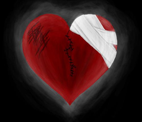 صور صور عن قلب مجروح , قلوب بها الم وجروح في صور