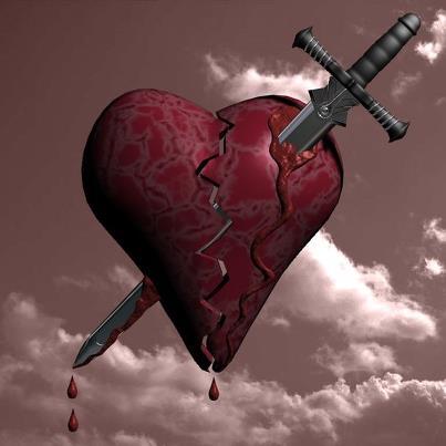 صورة صور عن قلب مجروح , قلوب بها الم وجروح في صور